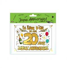 livre-or-20ans-anniversaire | jourdefete.com