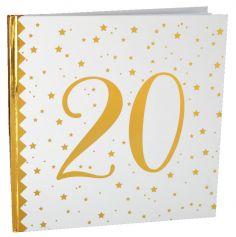 Livre d'or anniversaire - 20 ans | jourdefete.com