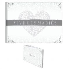 """Livre d'Or """"Vive les Mariés"""""""
