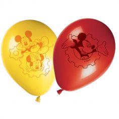 Lot de 8 ballons de baudruche Mickey Mouse ®
