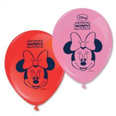 Lot de 8 ballons de baudruche Minnie