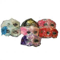 loup en dentelle avec rose couleur au choix | jourdefete.com