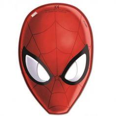 """Sachet de 6 masques en carton """"Spiderman Homecoming"""""""