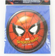 Sachet de 6 cartons d'invitation et enveloppes Spiderman