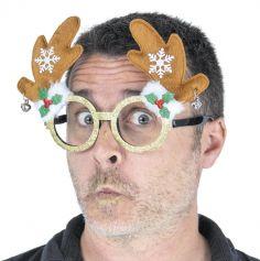 Lunettes de Noël à Paillettes - Modèle au Choix