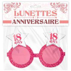 Lunettes Roses Etoiles - Anniversaire - Modèle au Choix