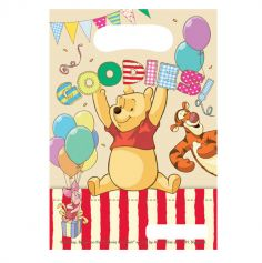 6 Sacs Cadeaux Winnie l'Ourson