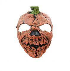 Masque en Latex de Citrouille
