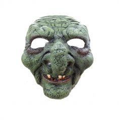 Masque en Latex de Vieille Sorcière