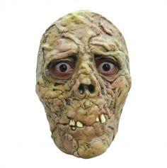 Masque en Latex de Zombie Brulé