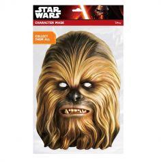 Masque en Carton Chewbacca