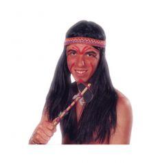 Perruque Indien avec Bandeau