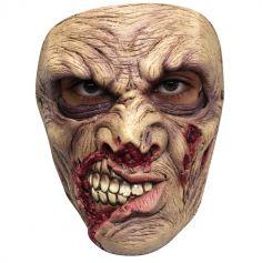 Masque en Latex de Zombie Gueule Cassée
