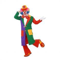 Manteau de Clown Coloré Adulte - Taille au Choix