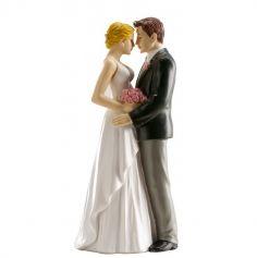 Figurines pour gâteau de mariage - Couple classique