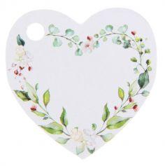 marque-place-coeur-vegetal-mariage|jourdefete.com