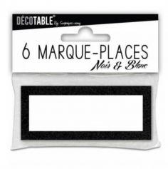 marque-place-porte-nom-noir | jourdefete.com