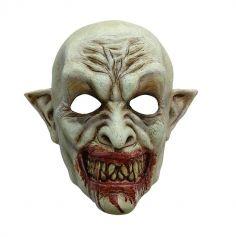Masque Intégral en Latex de Vampire Sanguinaire
