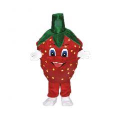 Mascotte Légume Fraise