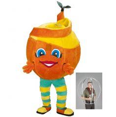 mascotte fruit orange