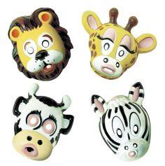 Masque Animaux du Zoo Enfant - Modèles Divers