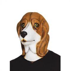 Masque en Latex de Chien - Beagle