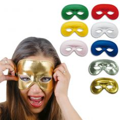 "Masque loup ""Domino"" différents coloris"