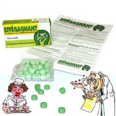 """Boite de Médicaments Bonbons Humoristiques """" Effégagnant"""""""