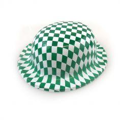 Chapeau melon vert en plastique de la St Patrick
