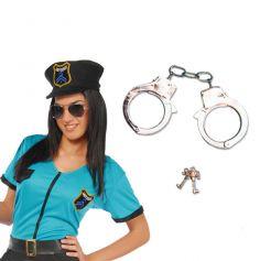 Menottes Métal Policier