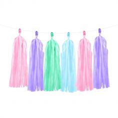 Guirlande Tassels - Multicolore - Mermaid