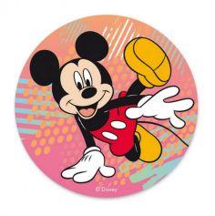 anniversaire deco gateau disque azyme mickey mouse | jourdefete.com