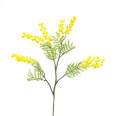 branche de mimosa artificiel 85 cm | jourdefete.com