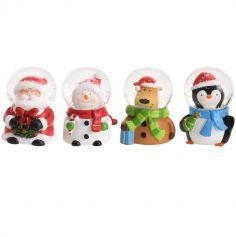 Mini Boule à Neige - Décoration de Noël - Modèle au Choix