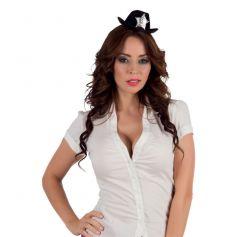 Serre-tête Mini Chapeau Shérif Femme