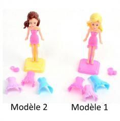Mini Poupée Mode - Modèle au Choix