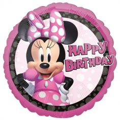 ballon standard minnie mouse rond | jourdefete.com