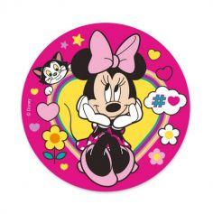 deco gateau anniversaire disque azyme minnie mouse disney | jourdefete.com