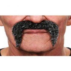 Moustache Poivre et Sel