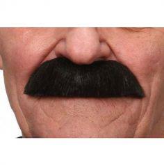 """Moustache """"Brassens"""" - Noir"""