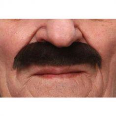 "Moustache fournie ""Clark"" - Brun"