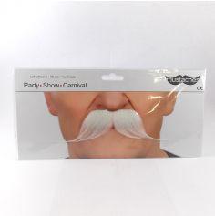 "Moustache ""Dandy"" - Blanc"
