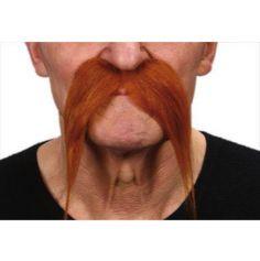 """Moustache """" Gaulois"""" - Roux"""