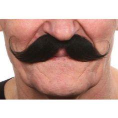 """Moustache """"Guillaume"""" - Noir"""