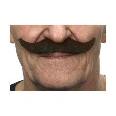 """Moustache """"Parisien"""" - Brun"""