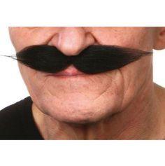"""Moustache """"Polonais"""" - Noir"""