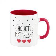 """Mug """"Chouette Maîtresse"""" - Derrière La Porte"""