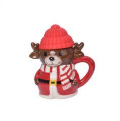 mug de renne avec couvercle pour noel | jourdefete.com