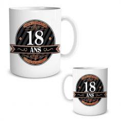 Mug Cadeau Anniversaire - Age au Choix