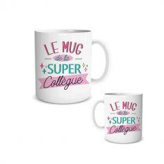 mug-super-collegue-cadeau | jourdefete.com